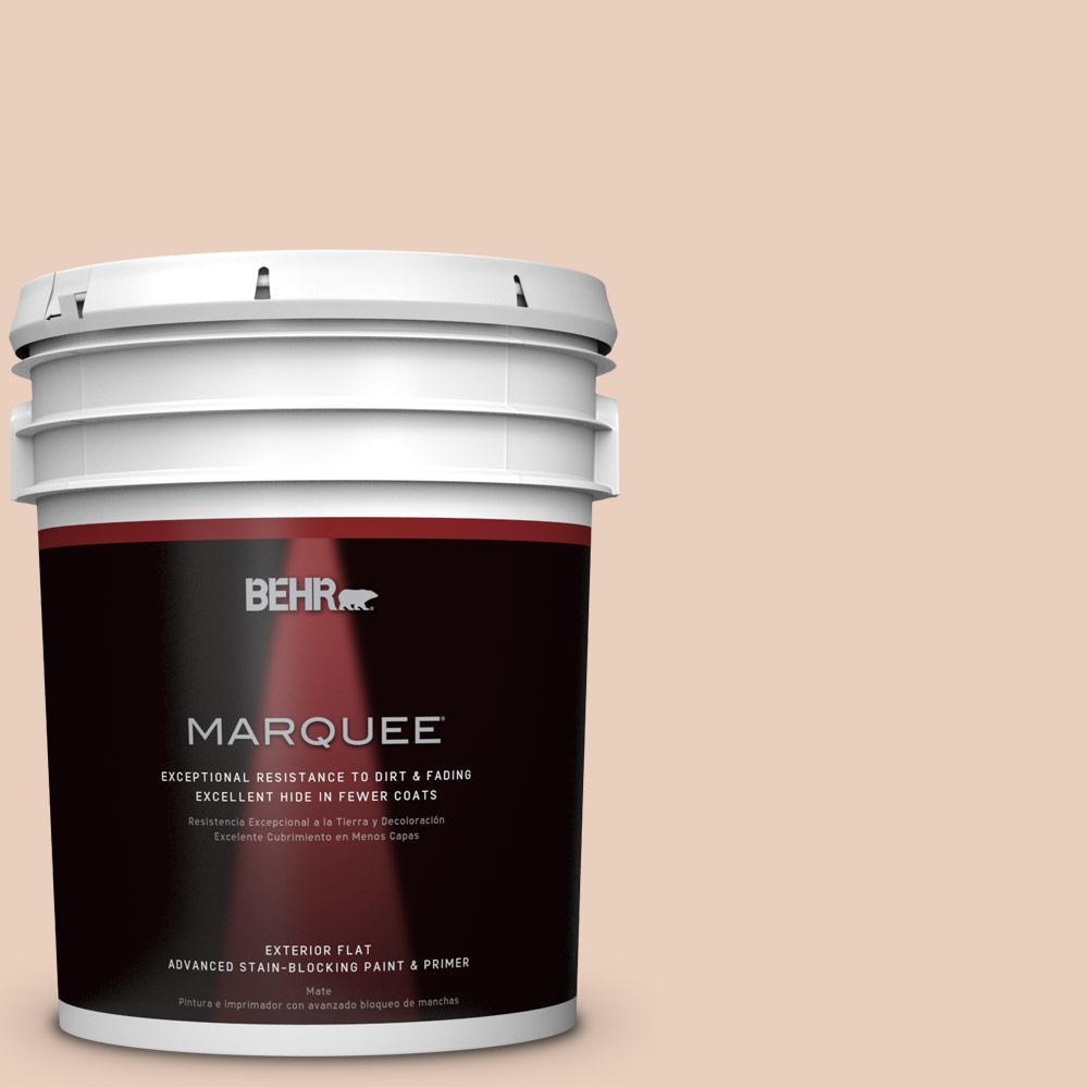 5-gal. #PPL-61 Spiced Beige Flat Exterior Paint
