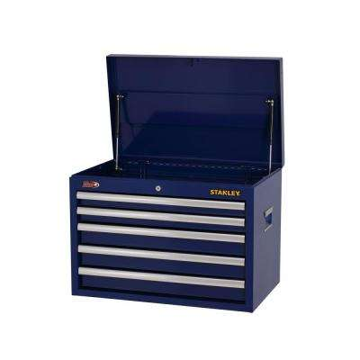 26 in. W 5-Drawer Tool Chest, Blue