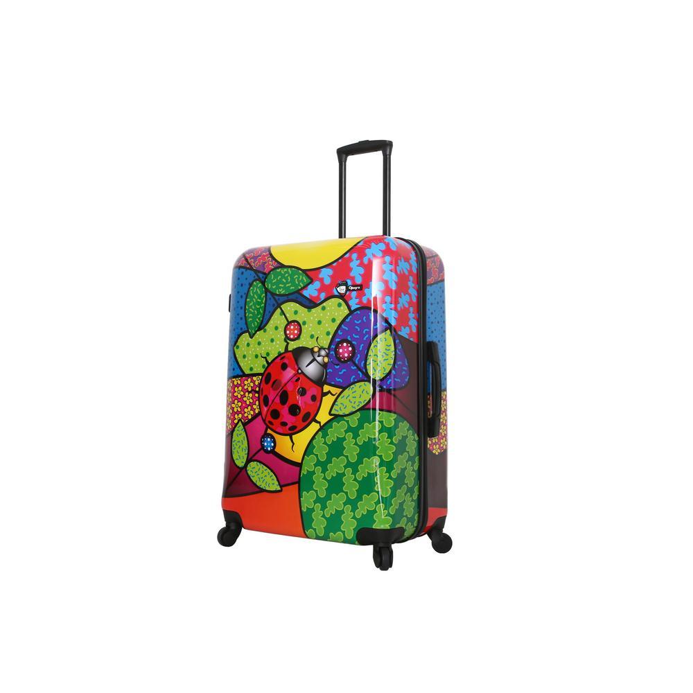Allegra 28 in. Pop Ladybug Spinner Suitcase
