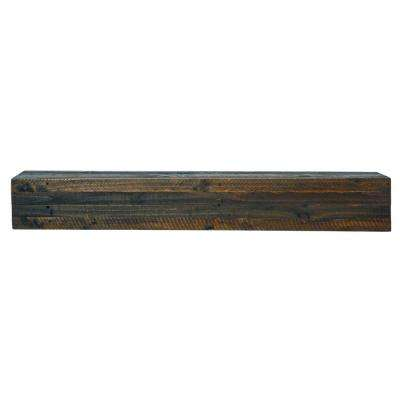 Capri Rustic 45 in. x 6.3 in. Mantel Shelf