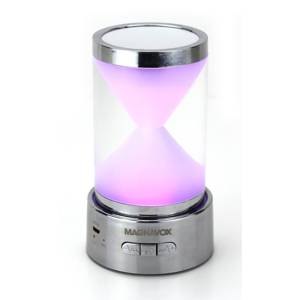 Portable Speaker with RGB Color Changing Lights and Bluet...