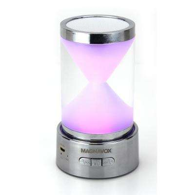 Portable Speaker with RGB Color Changing Lights and Bluetooth