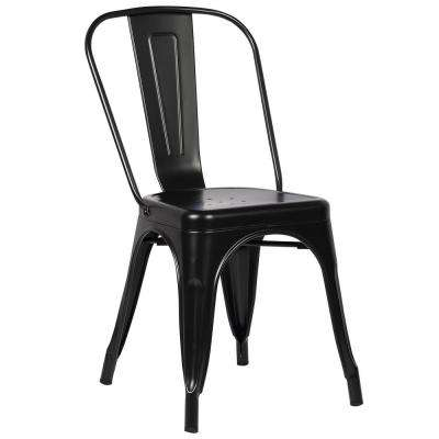 Trattoria Black Side Chair