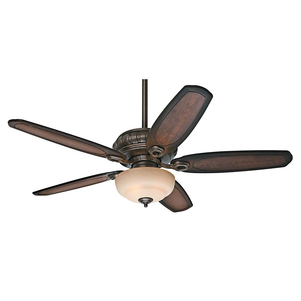 Kingsbridge 54 in. Indoor Roman Sienna Ceiling Fan with Light