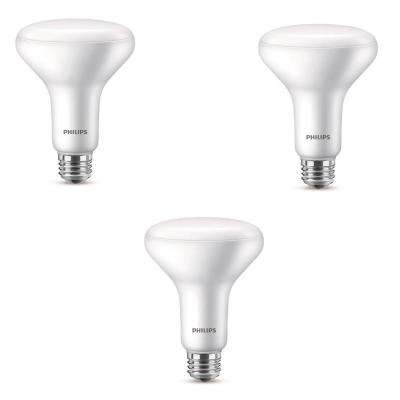 65-Watt Equivalent with Warm Glow BR30 Dimmable LED ENERGY STAR Light Bulb, Soft White (3-Pack)