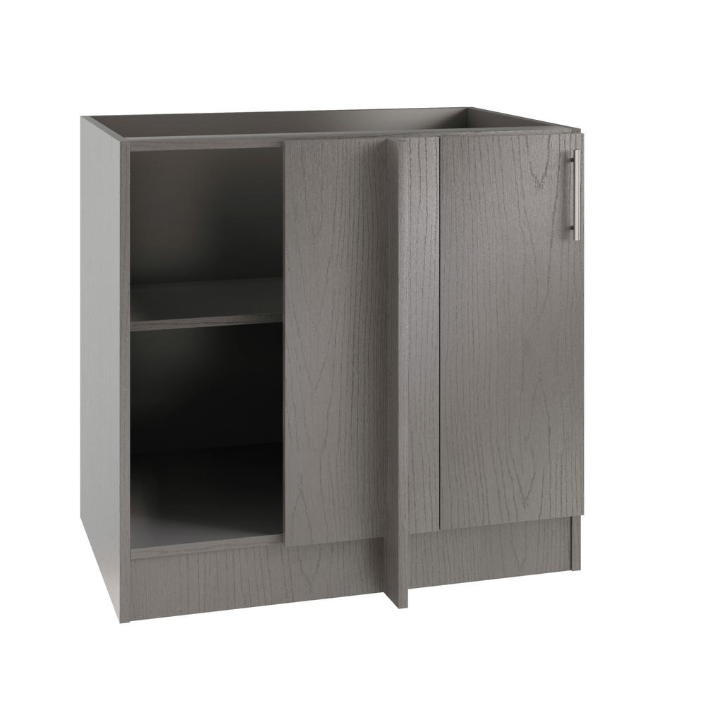 Outdoor Kitchen Cabinet Doors: WeatherStrong Assembled 39x34.5x24 In. Miami Island Blind