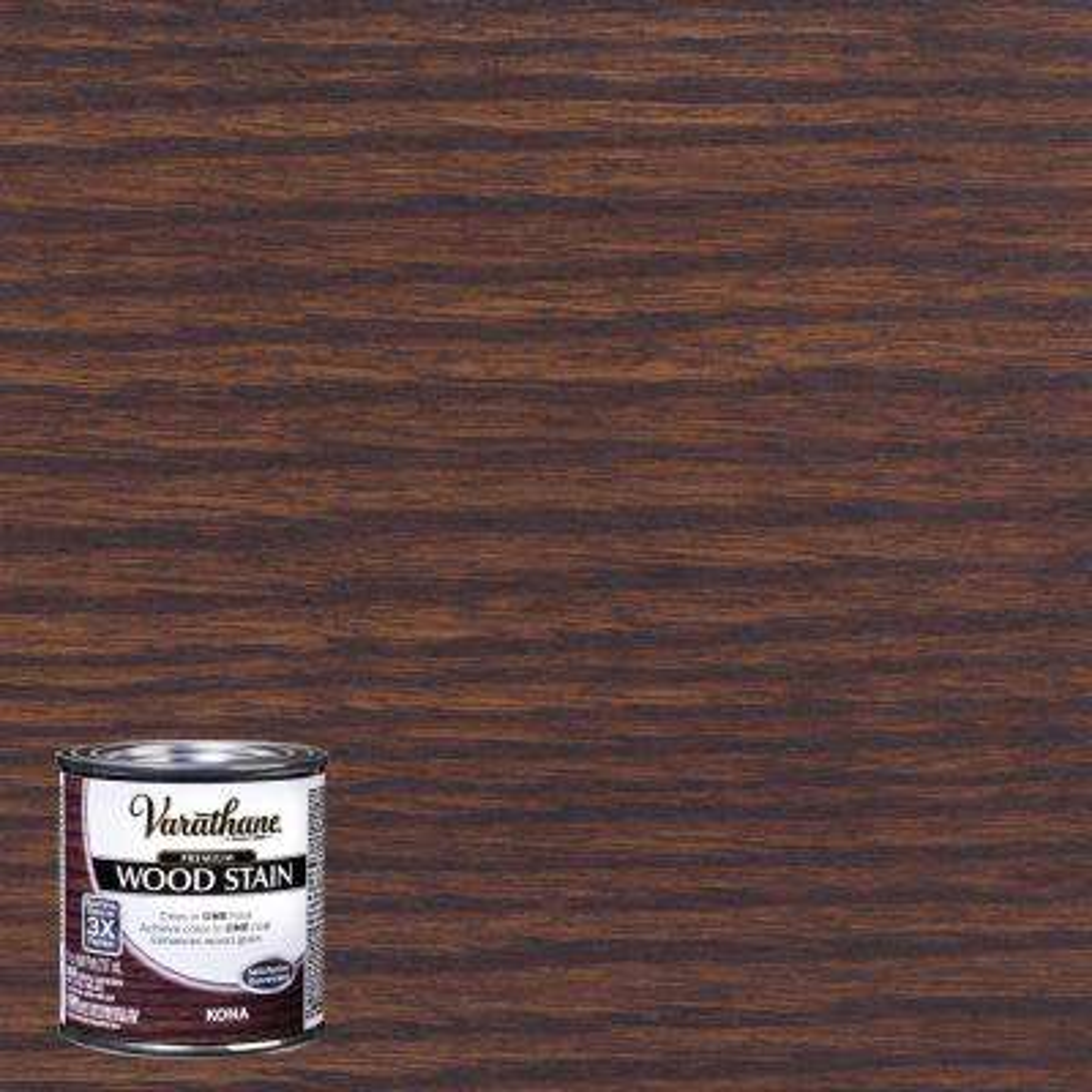8 oz. Kona Premium Fast Dry Interior Wood Stain (4-Pack)