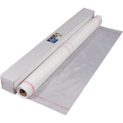 42 in. x 75 ft. (250 sq. ft.) Polyester Contouring Roof Fabric in White