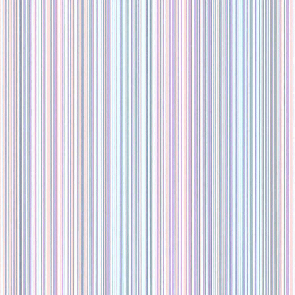 Chesapeake Wells Lavender Candy Stripe Wallpaper