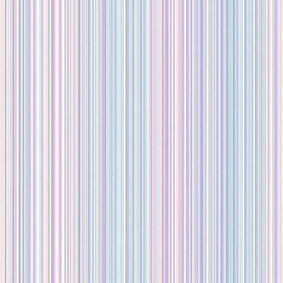 Wells Lavender Candy Stripe Wallpaper