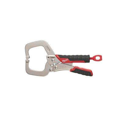 2.25 in. Torque Lock Locking C-Clamp With Durable Grip and 2.125 in. Throat Depth