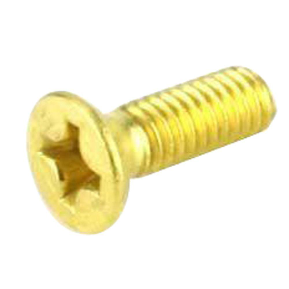 Everbilt #8-32 x 1/2 in. Phillips Flat-Head Machine Screws (6-Pack)