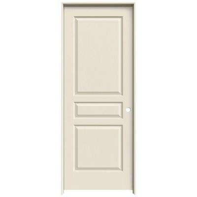 JELD-WEN 30 in. x 80 in. Colonist Primed Right-Hand Textured Solid ...