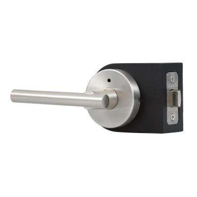 Contemporary Collection Cira Satin Nickel Bed/Bath Door Lever
