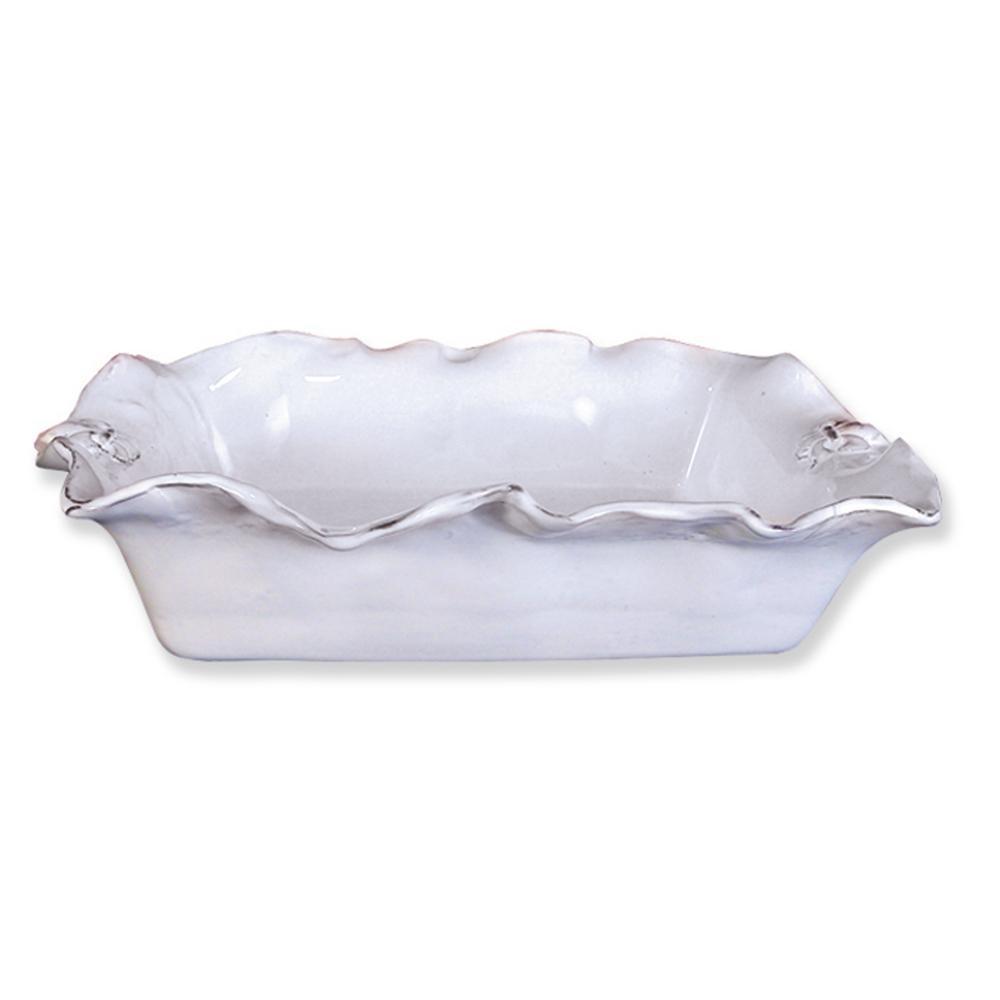Fleur De Lis White Ceramic Charger Set of 4