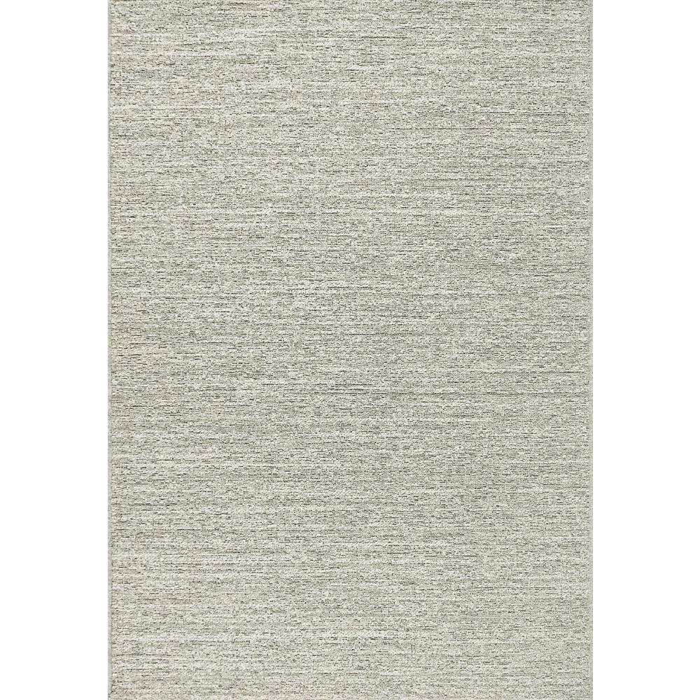 CHIC 5FT 3IN X 7FT 7IN LIGHT GREY WOOL