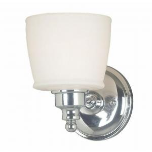 Riley 1-Light Chrome Wall Sconce