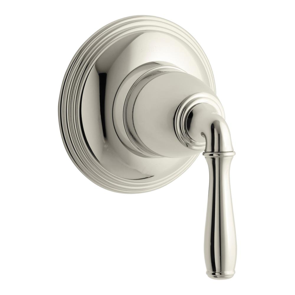 KOHLER Devonshire 1-Handle Volume Control Valve Trim Kit in Vibrant Polished Nickel (Valve Not Included)