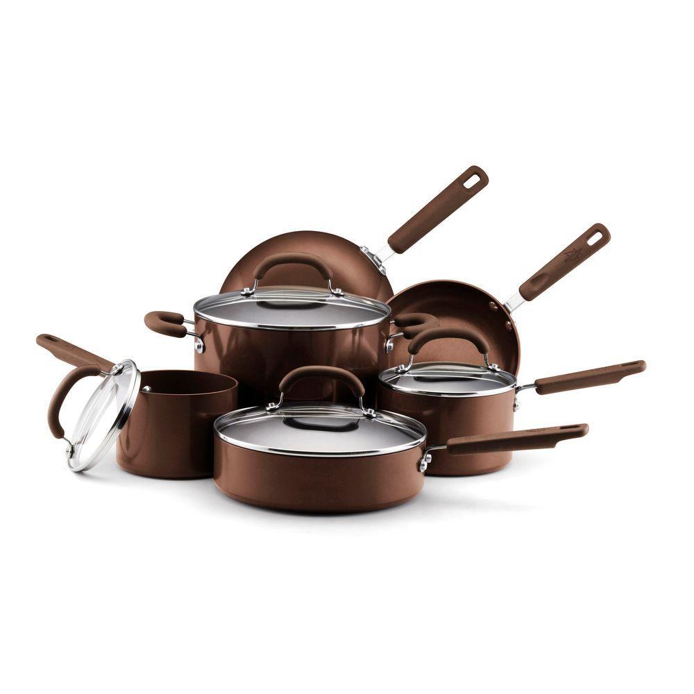 Farberware EarthPan II 10-Piece Cookware Set-DISCONTINUED
