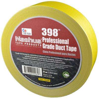 1.89 in. x 60.1 yds. 398 All-Weather Yellow HVAC Duct Tape