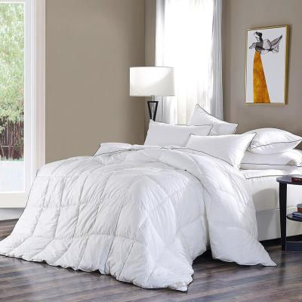 All Season Year Round Warmth White King Down Alternative Comforter