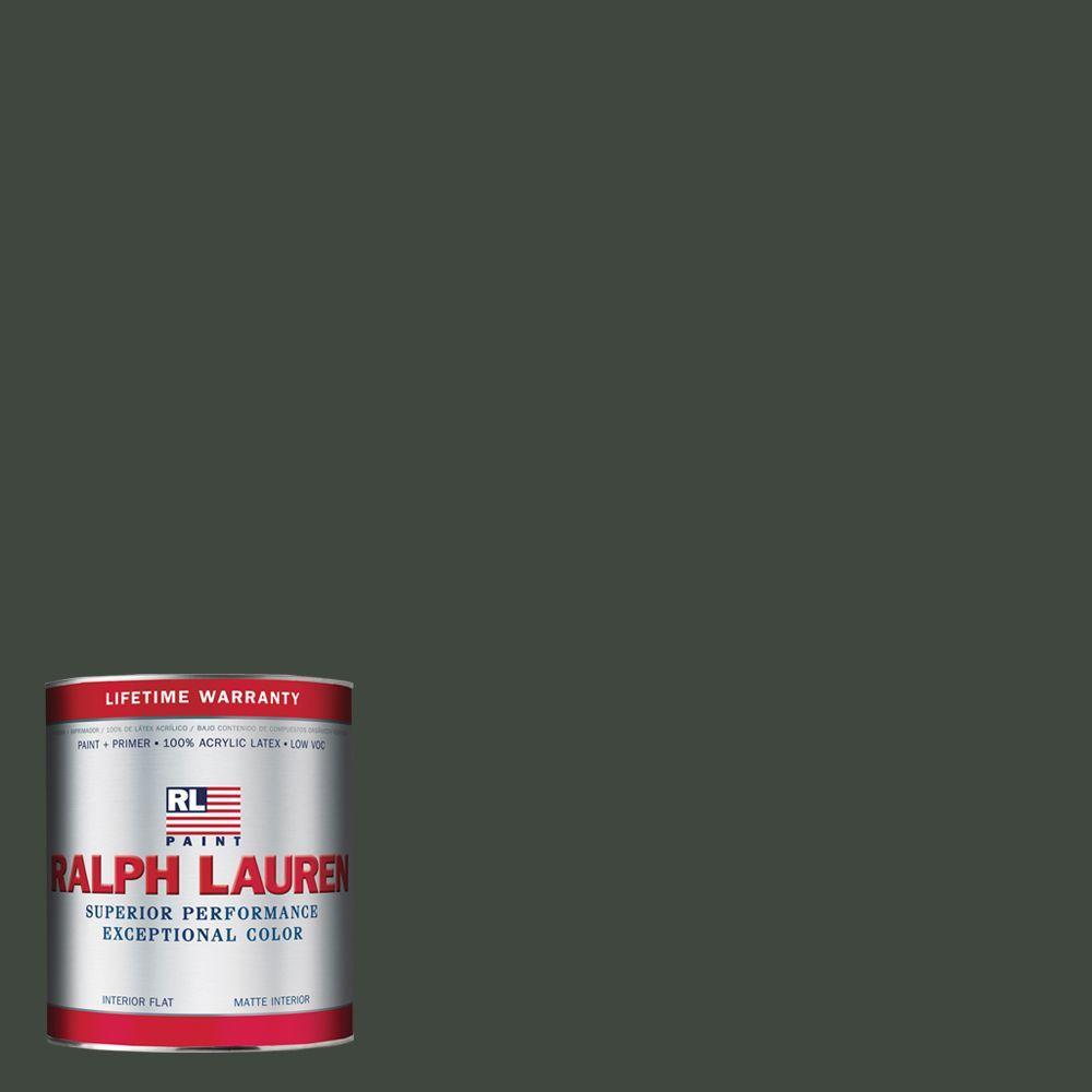 Ralph Lauren 1-qt. Arthurian Green Flat Interior Paint