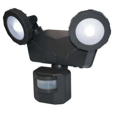 160 Degree Dark Grey Solar Outdoor LED 500 Lumens Bluetooth Smart Control Motion Activated Light