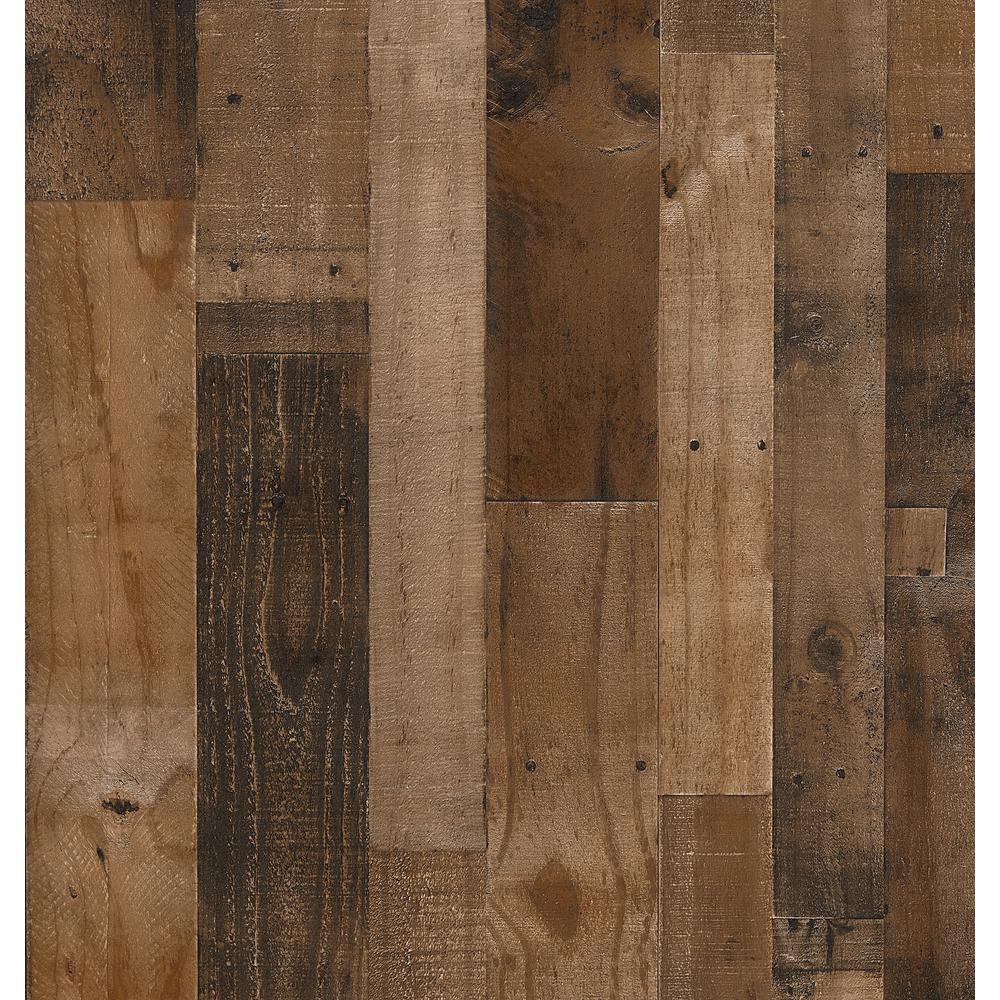 Woodgrain Millwork 3.5 mm x 48 in. x 96 in. Authentic Pallet MDF Panel