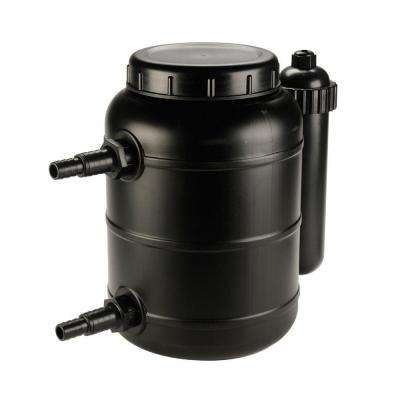 1200-GPH Pressurized Biological Pond Filter with UV Clarifier