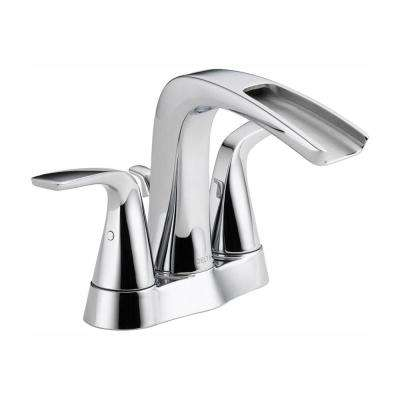 Tolva 4 in. Centerset 2-Handle Bathroom Faucet in Chrome