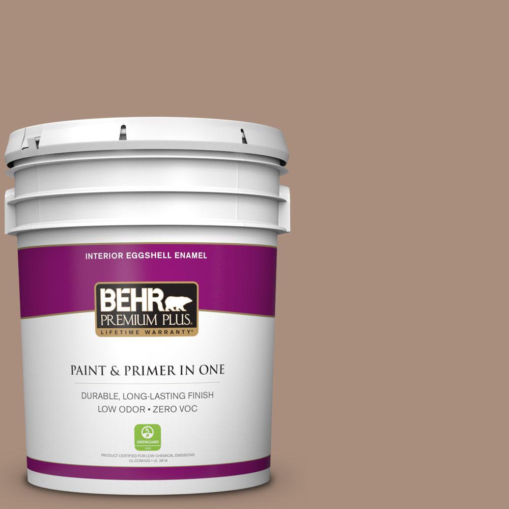 5-gal. #BNC-13 Cozy Cocoa Eggshell Enamel Interior Paint