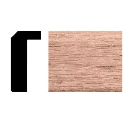 7/8 in. x 1-11/16 in. x 8 ft. Oak Counter Trim Moulding