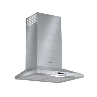 300 Series 24 in. Pyramid Style Canopy Range Hood with Lights in Stainless Steel, Energy Star