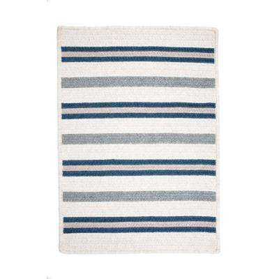 Promenade II Navy 12 ft. x 15 ft. Braided Area Rug