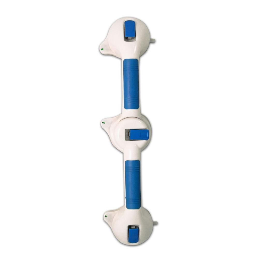 Ideaworks 19.25 in. x 3.75 in. Dual Super Grip Handle in Blue-DISCONTINUED