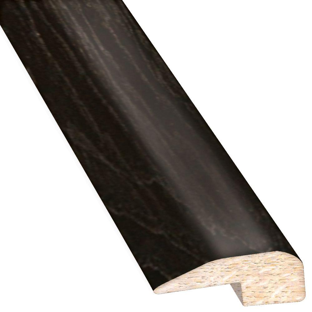 Hickory Ebony 0.88 in. Thick x 2 in. Wide x 78