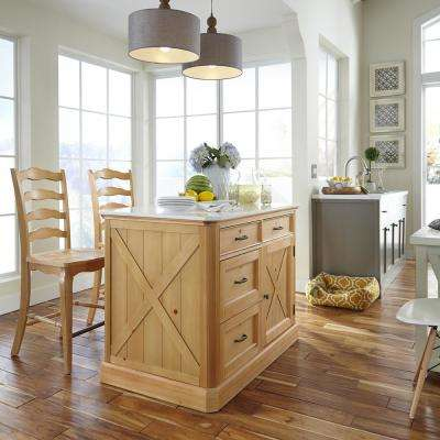 Country Lodge 24 in. Pine Bar Stool