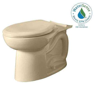 Cadet 3 FloWise Tall Height Elongated Toilet Bowl Only in Bone