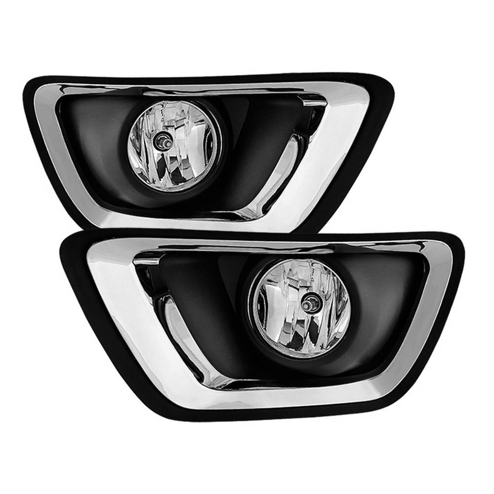 Chevy Colorado 2017 Oem Fog Lights W Switch Clear