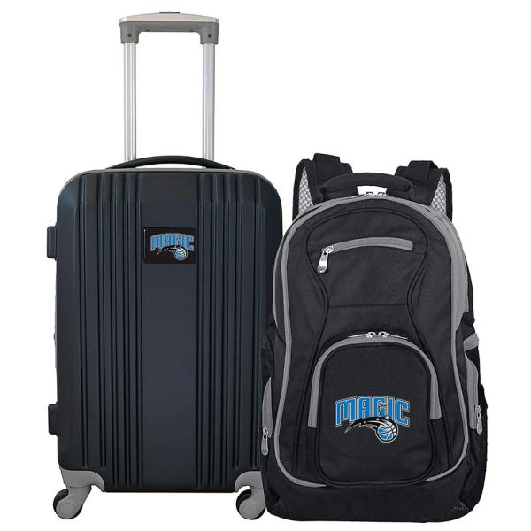 Mojo NBA Orlando Magic 2-Piece Set Luggage and Backpack NBMGL108