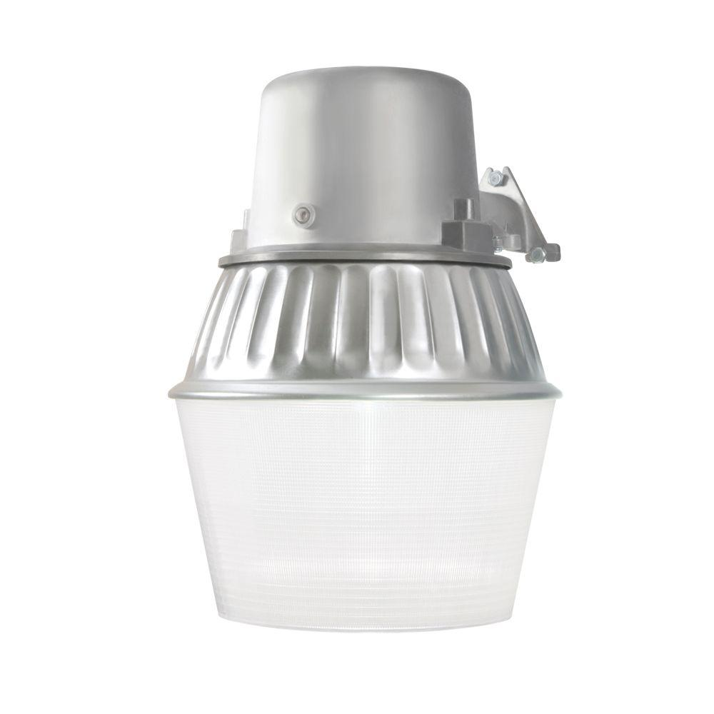 Fluorescent outdoor security lighting outdoor lighting the 65 watt metallic outdoor fluorescent security wall and area light with dusk to dawn photocell arubaitofo Images