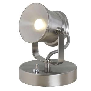 Hampton Bay 5.1 inch Brushed Nickel Integrated LED Spotlight Desk Lamp by Hampton Bay