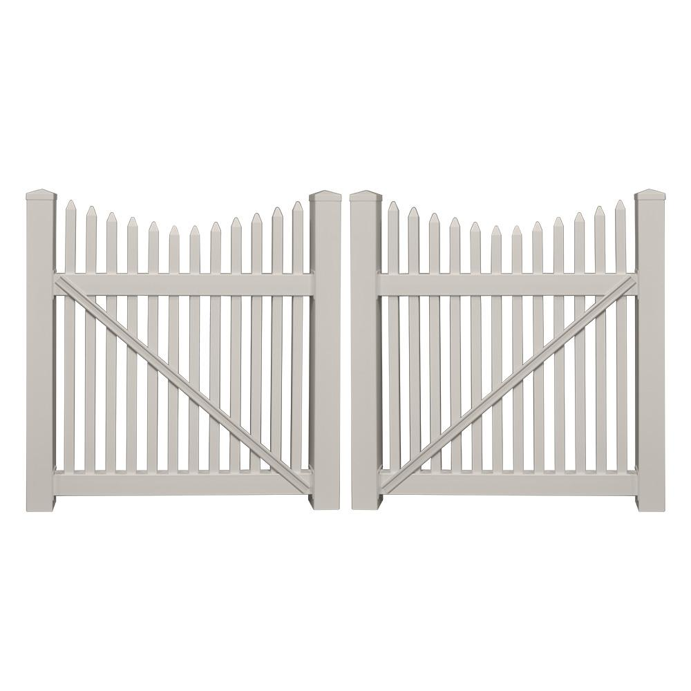 Home Depot  Ft Utility Galvanized Gate
