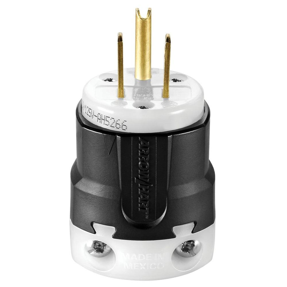 15 Amp 125-Volt 5-15 Ultra and Safety Grip Plug