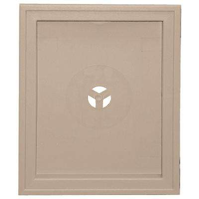 6.75 in. x 8.75 in. #023 Wicker Large Recessed Mounting Block