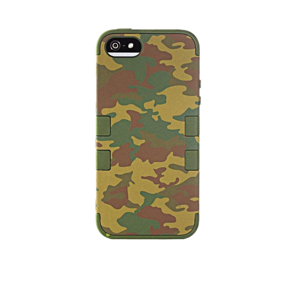 Home Decorators Collection Tech Shield 5 in. Camouflage iPhone 5/5s Case
