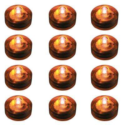 Orange Submersible LED Lights (Box of 12)
