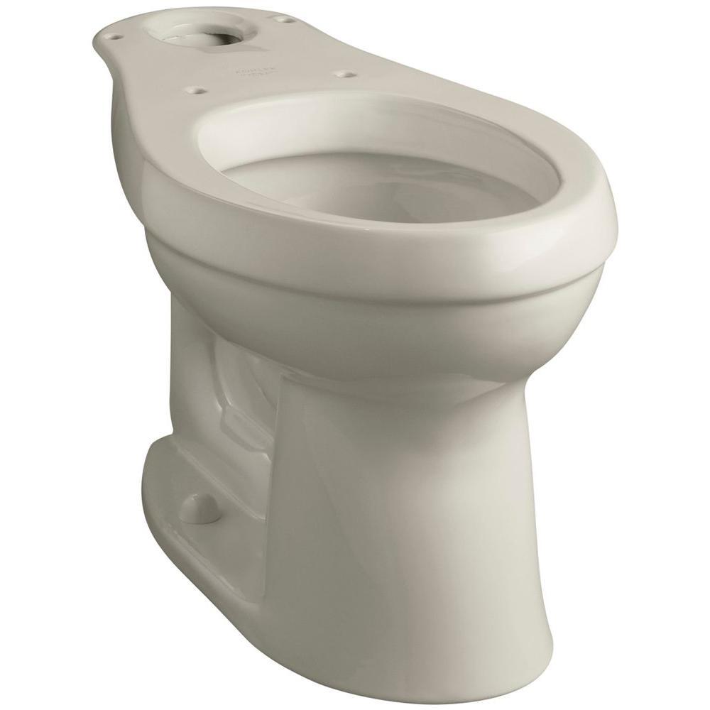 Cimarron Comfort Height Elongated Toilet Bowl Only in Sandbar