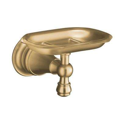 Revival Soap Dish in Vibrant Brushed Bronze