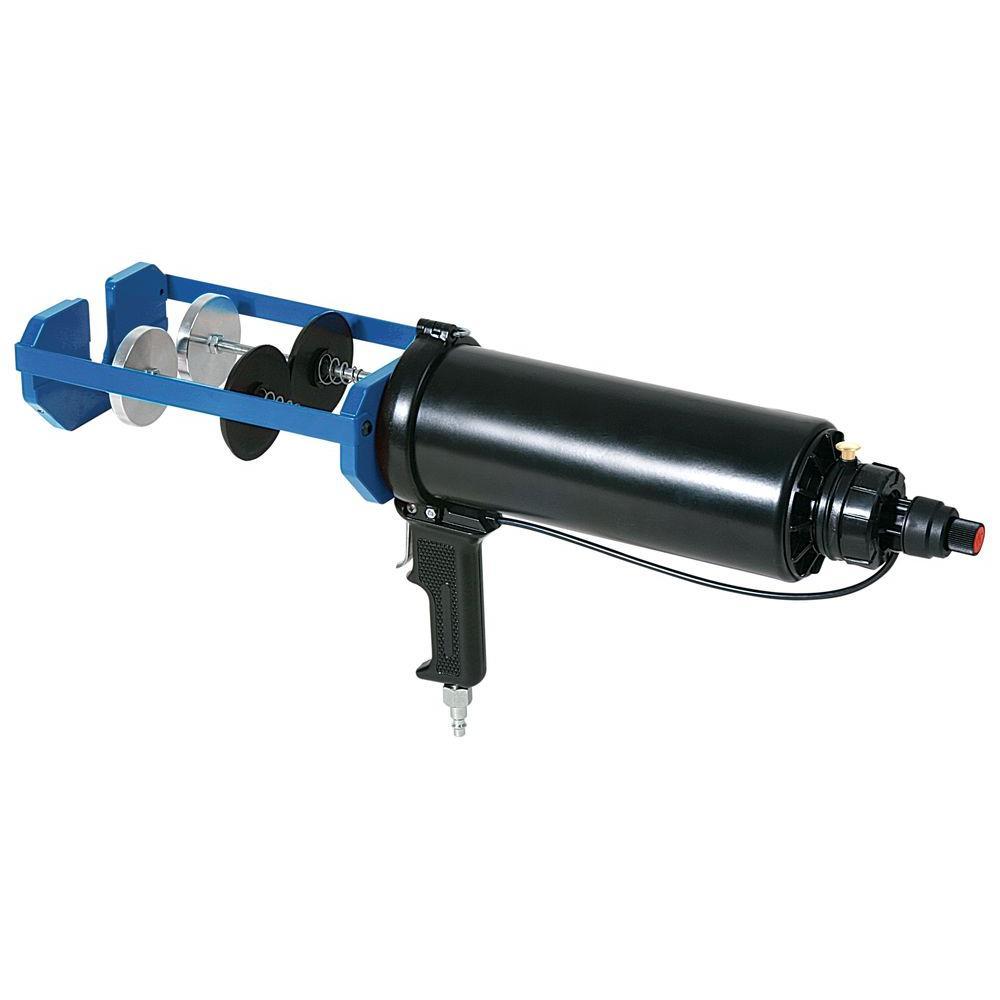 COX 750 ml x 750 ml Dual Cartridge High Power Pneumatic Epoxy Applicator Gun